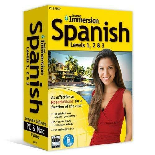Instant Immersion Spanish Levels 1 2 And 3 by Instant Immersion $20.95