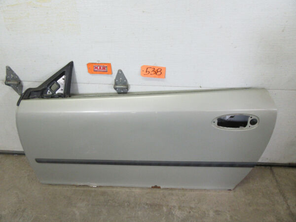 CAR DOOR PANEL SHELL L LH LEFT DRIVER SIDE 293 SILVER 04-11 SAAB 9-3 CONVERTIBLE