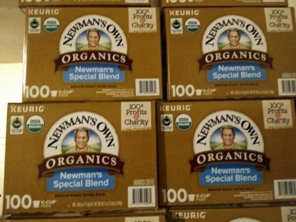 Newman's Own Organics Special Blend Coffee Keurig K-Cups 400-Count