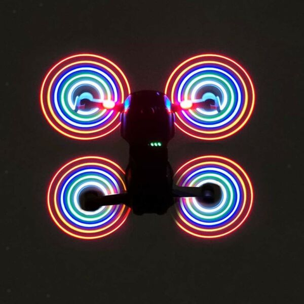 2 Pair Quick-release LED Flash Propeller Prop for DJI Mavic Air Drone Parts