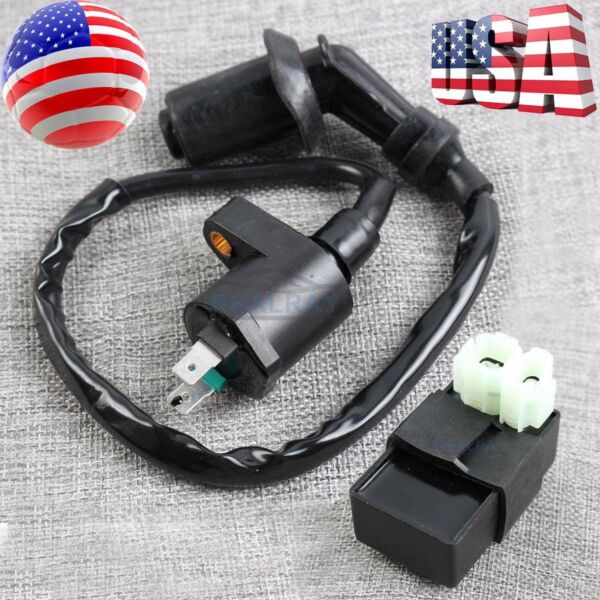 Ignition Coil & CDI for Honda FourTrax 250 TRX250X 1987 1988 1989 1990 1991 1992