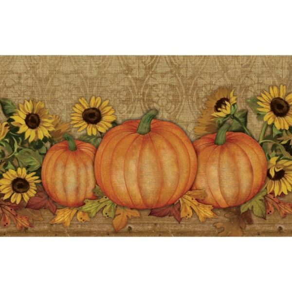 Door Mat Burlap Pumpkin Sunflower Rustic Home Decor Fall Autumn Thanksgiving New