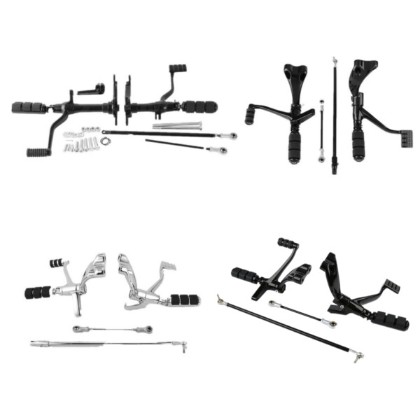 Forward Controls Pegs Levers Linkages For Harley Sportster XL 883 XL1200 Custom $104.00