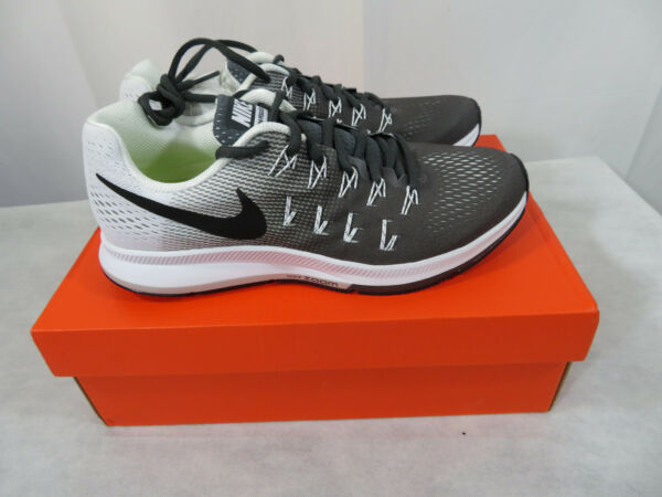 Nike Air Zoom Pegasus 33 Mens Multiple Sizes Shoes Dark Grey White 831352-002