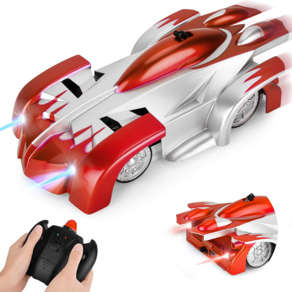 Remote Control Car GotechoD Gravity Defying RC 360°Rotating Mini Stunt Vehicle