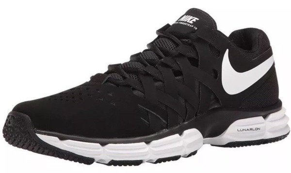 NIKE AIR MAX TAVAS MEN'S BLACK RUNNING SHOES, #705149-010