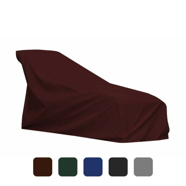 Patio Chaise Lounge Cover 18 Oz Waterproof PVC Coated Outdoor Cover $103.99