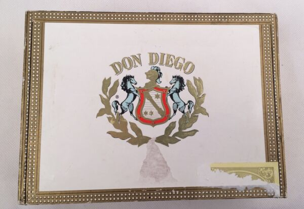 Vintage DON DIEGO Special Sun Babies EMPTY CIGAR BOX For Crafting Storage ART