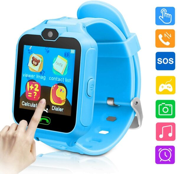 Kids Smartwatches Smartwatch Phone Game For Watches Camera Games Touch Screen