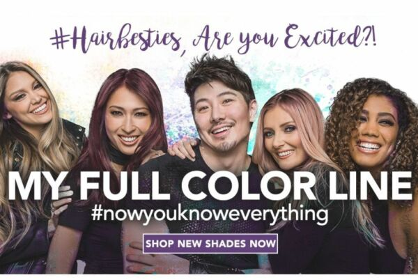 NEW GUY TANG #mydentity HAIR COLOR DIRECT DYEDEMIPERMANENTBOOSTERS FULL LINE