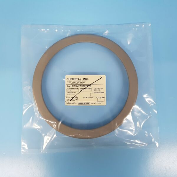 124-0202 AMAT APPLIED 0020-27309 COVER RING 8