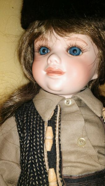 Dolls By Jerri~ NYDIA #9318 Full Body Porcelain Human Hair #99450 Retail $550+