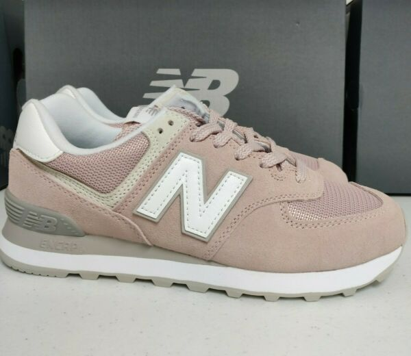 New Balance 574 Womens Shoes Sneakers WL Casual Pink Faded Rose