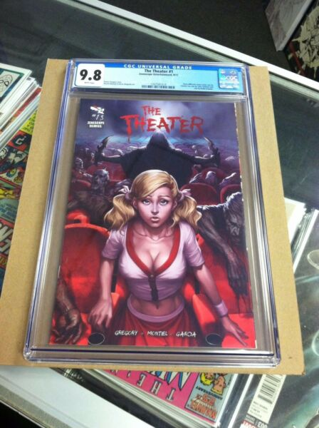 The Theater #1 Zenescope Entertainmment.Artgerm cover.First printing.CGC 9.8.