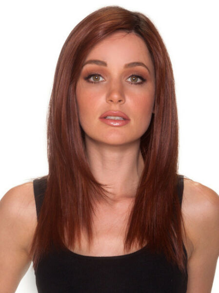 STRAIGHT PRESS 18 Wig by BelleTress *ALL COLORS* Mono Top Lace Front BELLE TRESS