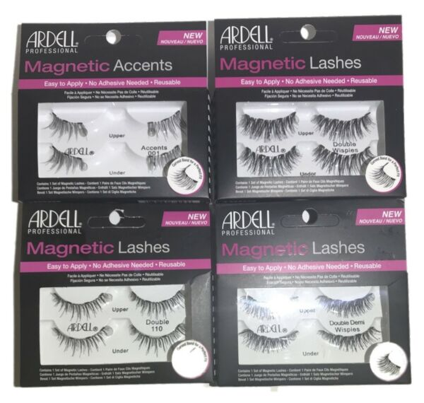 ARDELL PROFESSIONAL MAGNETIC EYE LASHES & ACCENTS - PICK STYLE & QUANTITY