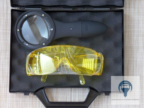 Led u / V Lamp & Safety Goggles for the Leaks Car Air Conditioners Bright