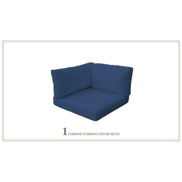 TK Classic 4quot; Outdoor Cushion for Corner Chair in Navy $108.99