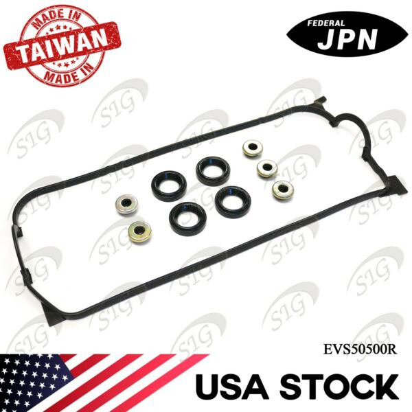 JPN Engine Valve Cover Gasket Set for 1996-2000 Honda Civic  1.6L L4 - VS50500R