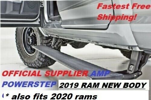 76240-01A Plug & Play AMP Powerstep for 2019 + UP RAM new body only 1500