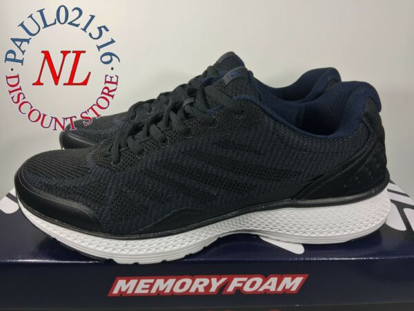 FILA Men's Startup Memory Foam SneakerRunning Shoes ~ Black ~ Various Sizes ! !