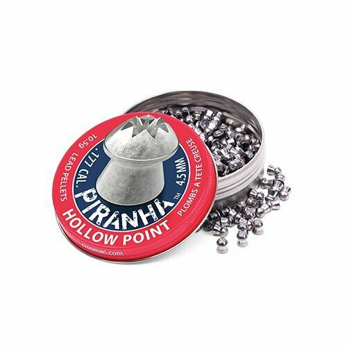 Accurate Hollow Point Lead Pellet for .177 Caliber Hunting Air Rifles 400ct $32.99