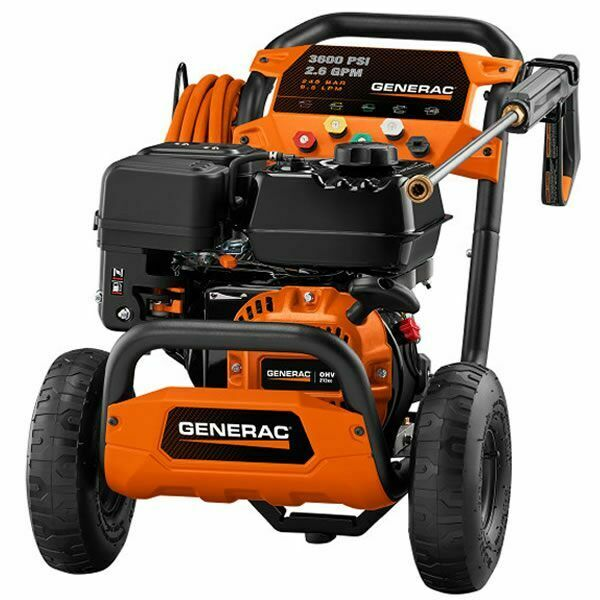 Generac 3600 PSI Gas Cold Water Pressure Washer $629.00