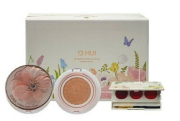 Korea Cosmetic Ohui Ultimate Cover Cushion moisture set C $66.63