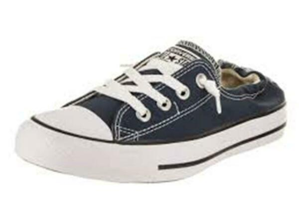 Converse Women's Chuck Taylor Shoreline Slip Casual Sneaker Shoes 537080F Navy