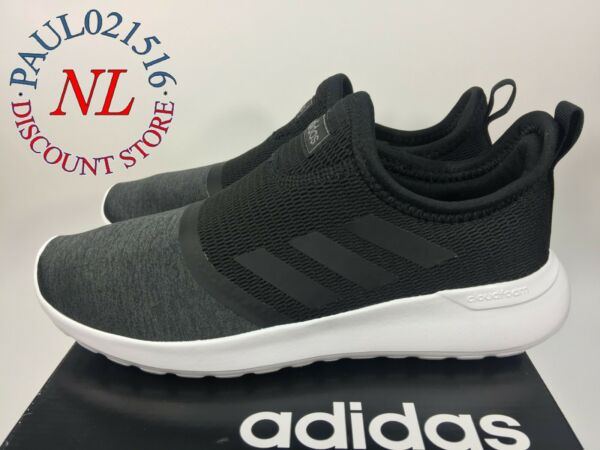 Adidas Women's Cloudfoam Lite Racer Slip Running Shoes ~ Black ~ Pick Your Size