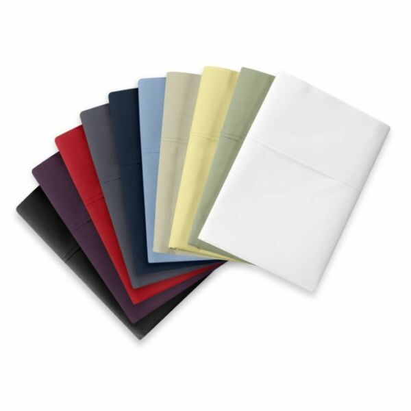 Wamsutta 350 Thread Count 100% Egyptian Cotton Cool Touch Percale Fitted Sheet
