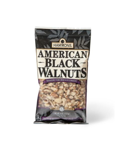 Hammons American Black Walnuts Fancy Large 4 Ounce $6.99