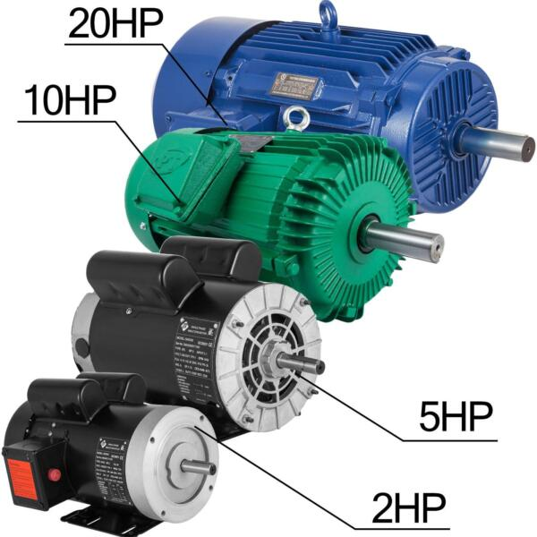 1~20 HP 1Phase 3450RPM Electric Air Compressor Duty Motor 56 Frame 58