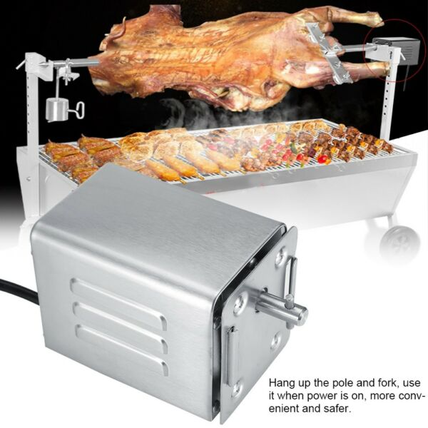 50 70KGF Stainless Steel BBQ Rotisserie Motor Electric Roaster Barbecue Motor
