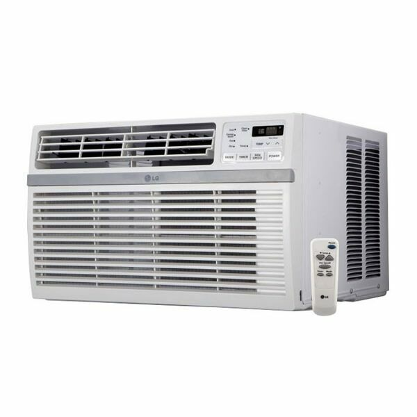 LG - 12000 BTU - Window Air Conditioner - Cooling Only - 115V