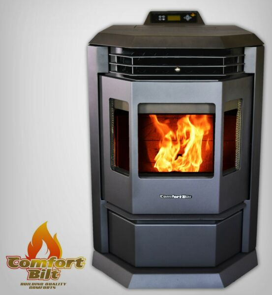 Comfortbilt HP22 Metallic Black Pellet Stove Fireplace 50000 btu Special Price $1999.00