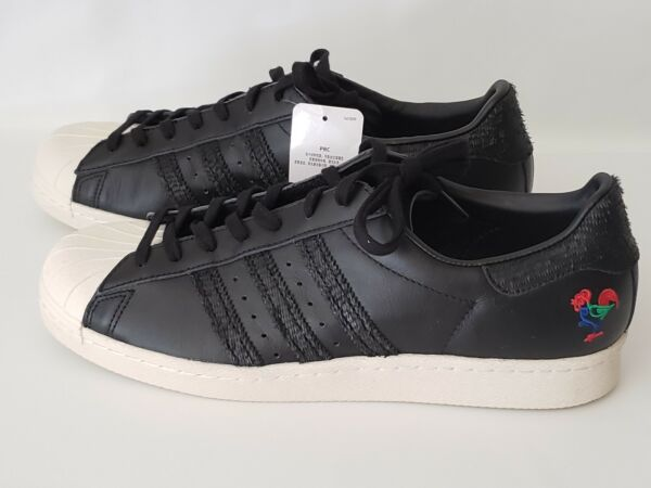 Adidas Originals Superstar 80s Retro Sneakers 11 Chinese New Year Rooster BA7778