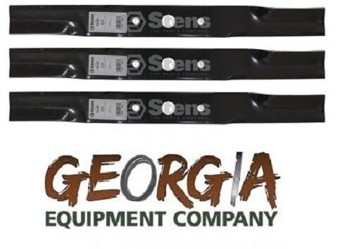 3 USA MADE HEAVY DUTY BLADES WOODS RD72 HERITAGE 1008199KT FINISHING MOWER