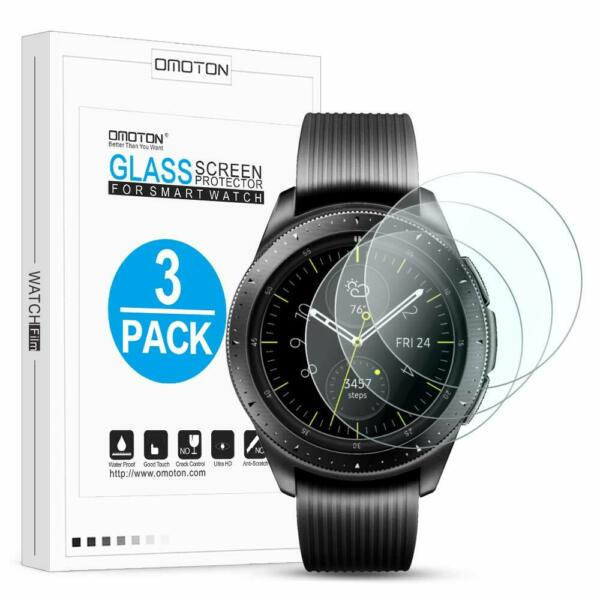 Samsung Galaxy Watch Screen Protector 42mm Tempered Glass SmartWatch 9H HD Clear