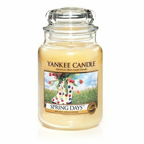 ☆☆Yankee candle☆☆ Spring Days Large Jar CandlesFresh Scent