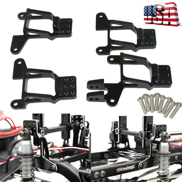 110 RC Alloy Front  Rear Shock Tower Hoops Bracket Mount For TRAXXAS TRX-4 -US