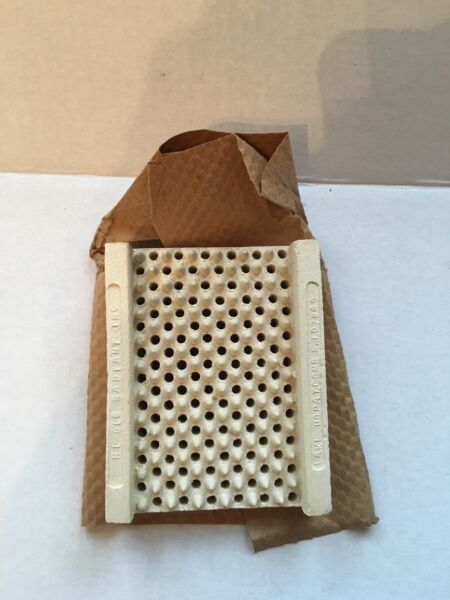 VINTAGE NEW OLD STOCK! Ceramic Grate Brick Insert for Gas Space Heater 5x4