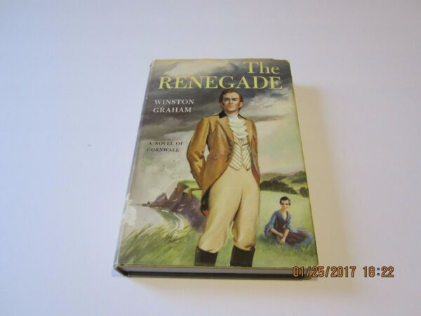 The RenegadeRoss Poldark by Winston Graham 1st1st 1951 HCDJ