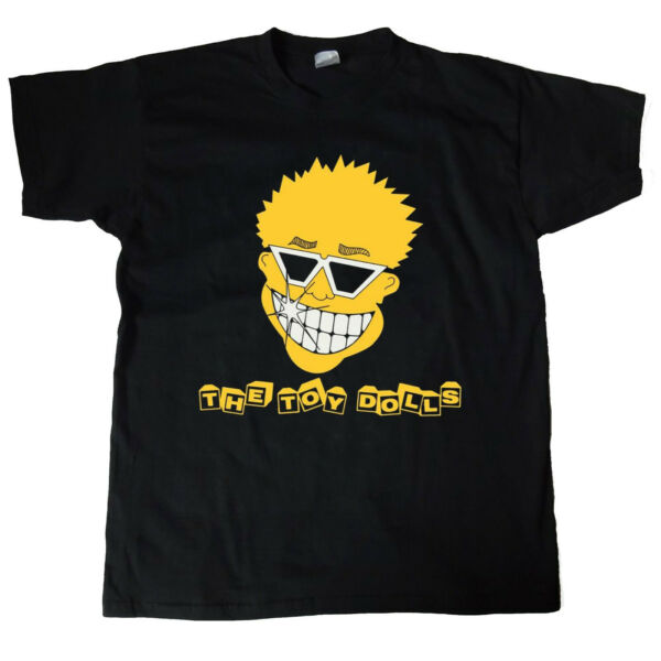 The Toy Dolls Yellow Mascot Face T-Shirt