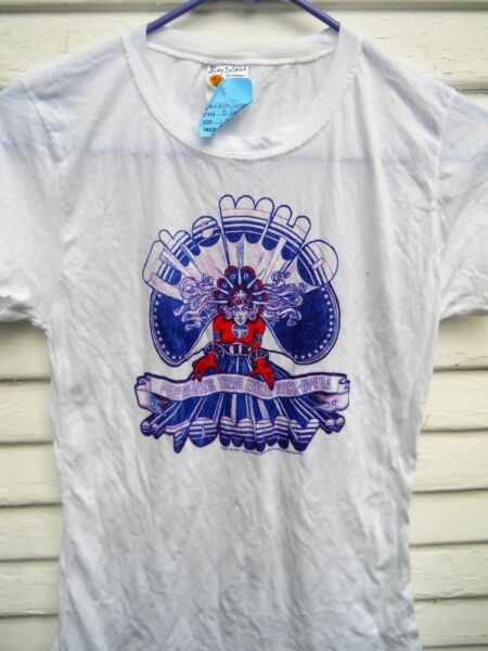 NEW quot; THE WHO quot; TOMMYquot; WOMEN#x27;S BABY DOLL TEE SHIRT SIZE MEDIUM COLOR WHITE $18.00