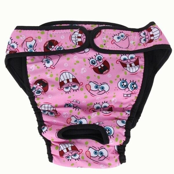 Cute Large Med. And Small Dog Washable Female Dog Diaper Sanitary Pants $7.00