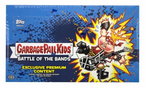 2017 Topps GPK Garbage Pail Kids Battle of the Bands Hobby Collector Edition Box