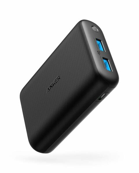 Anker Redux Compact 15000mAh 2-Port Ultra-Portable Charger Power Bank PowerIQ