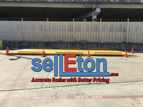 Axle Truck Cargo Scale 10' x 30' NTEP Cap 100000 lbs x 20 lbs Legal for Trade