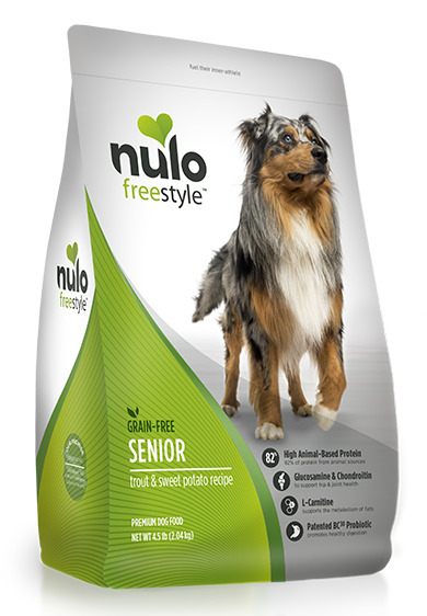 Nulo FreeStyle Grain Free Trout & Sweet Potato Senior Dog Food